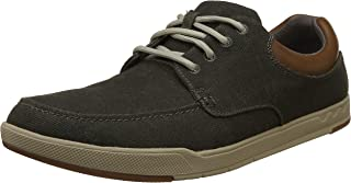 Clarks Men's Step Isle Lace Khaki Sneakers