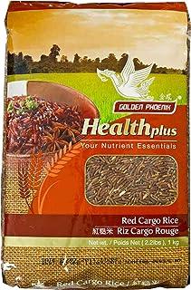 Golden Phoenix Thai Red Cargo Rice - Whole Grain Rice, High Fiber Content, All-Natural, No Artificial Color...