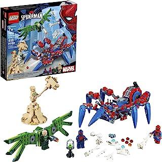 LEGO Marvel Spider-Man: Spider-Man's Spider Crawler 76114 Building Kit (418 Pieces)