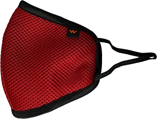 WILDCRAFT W95 HYPASHEILD COLORED RESUABLE OUTDOOR MASK-LARGE (PACK OF 7, RED)