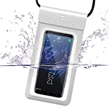 TANTRA® Universal Mobile Phone Waterproof Case with IPX8 for iPhone X, 8, 8 Plus, 7, 7plus, 6, 6s, 6s Plus, Galaxy S9/S9 Plus/s8/s7 Google Pixel, Vivo, Mi, Oppo, One Plus etc.
