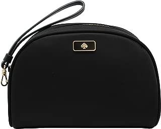 Kate Spade Dawn Medium Dome Cosmetic Wristlet Black Bag