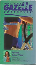 Tony Little's Personal Trainer Video: Awesome Abs / Advanced Total Body Buttkickin' Workout, / Gazelle Freestyle (Three-Pack)