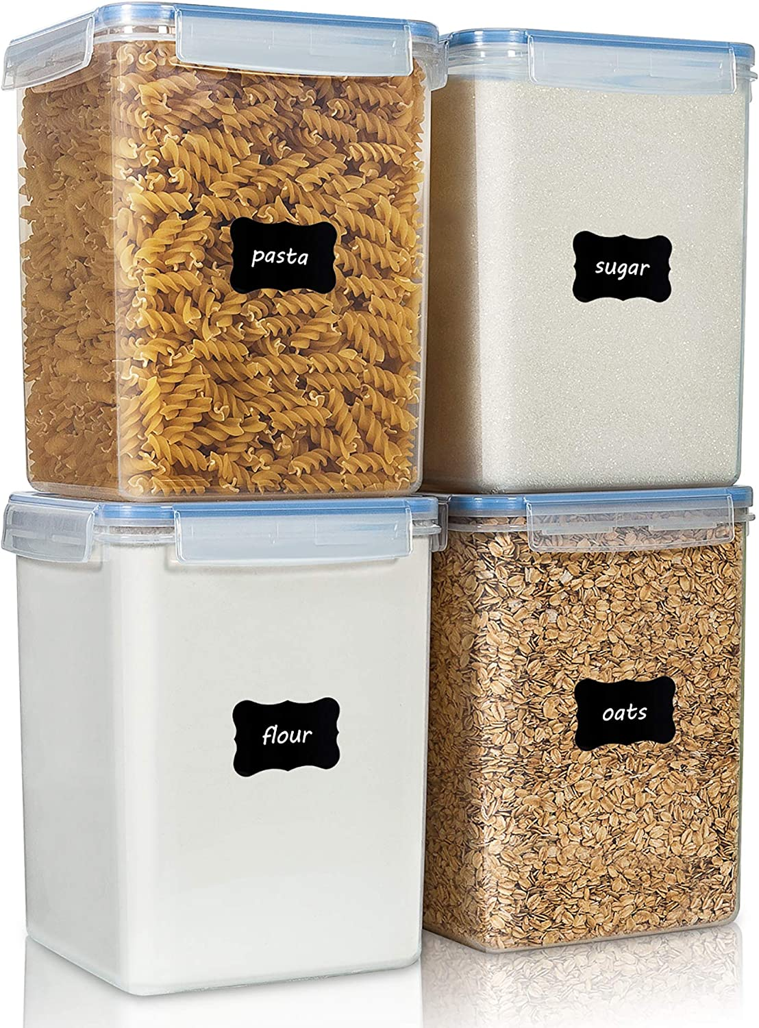 Large Food Storage Containers Special price for a limited time 5.2L 4 Max 45% OFF 176oz BP Vtopmart Pieces
