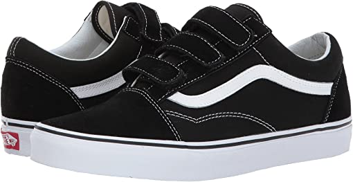 (Suede/Canvas) Black/True White