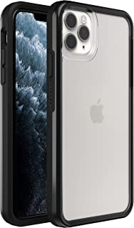 LifeProof for Apple iPhone 11 Pro Max, Clear and Thin Drop Proof Protective Case, SEE Series, Black Crystal - clear/black