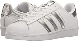Footwear White/Silver Metallic/Core Black