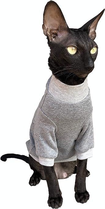 Kotomoda Ropa para Gatos Jersey de algodón Hogar Dulce hogar. (S): Amazon.es: Productos para mascotas