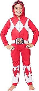 red power ranger pajamas