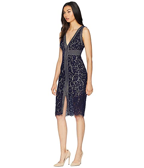 Online Store Order Bardot Morgan Lace Dress Navy Low Price Fee Shipping Online 9j75SJF