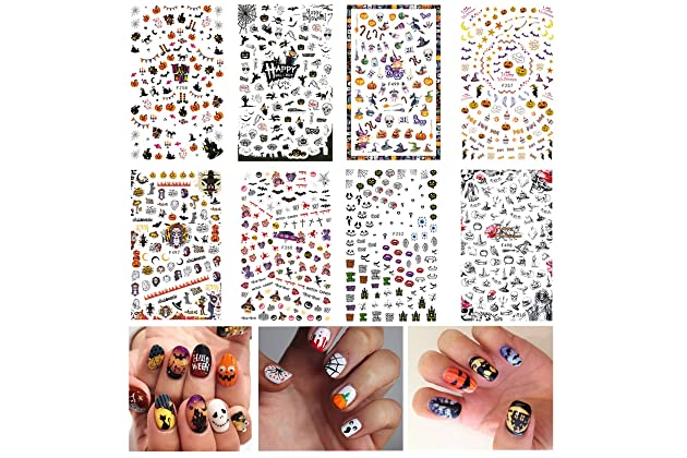 Best holiday set decals for nails | Amazon com