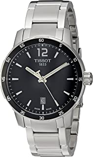 Tissot Men's T0954101105700 Quickster Analog Display Swiss Quartz Silver Watch