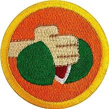 embroidered karate badges