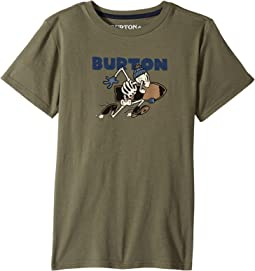 Burton Kids Stoked Short Sleeve T-Shirt (Little Kids/Big Kids)
