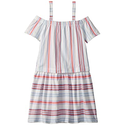 Joules Kids Striped Jersey Dress (Toddler/Little Kids/Big Kids) (Cream Summer Stripe) Girl