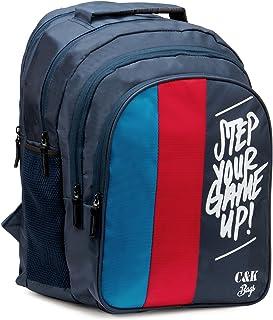 Chris & Kate Big 42 litres Comfortable Blue-Red Casual Laptop Bag || College Bag || Backpack ||School Bag(CKB_181SE)