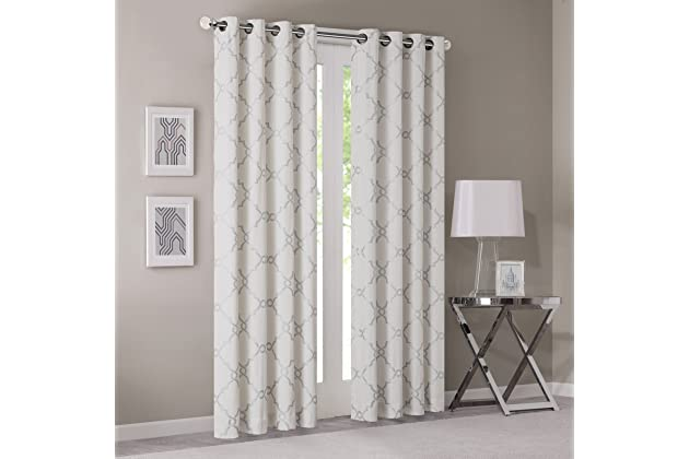 Best ivory silver curtains for bedroom | Amazon.com