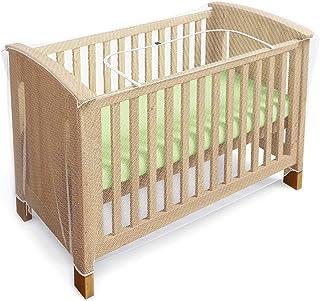 comprar comparacion Mosquitero para cuna, moisés y cama para bebés con zíper con acceso rápido y fácil a su hijo - (de Luigi's)