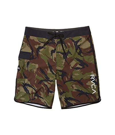 RVCA Eastern 20 Trunk (Green Camo) Men