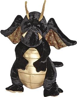 Douglas Merlin Black Dragon Plush Stuffed Animal