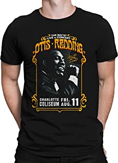 Liquid Blue Otis Redding in Concert Charlotte Coliseum Short Sleeve Tee