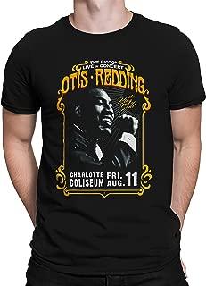 تي شيرت بأكمام قصيرة من Liquid Blue Otis Redding in Concert Charlotte Coliseum