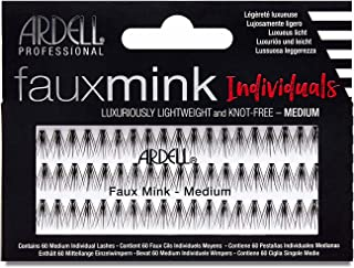Ardell Faux Mink Individuals False Lashes, Medium, Black