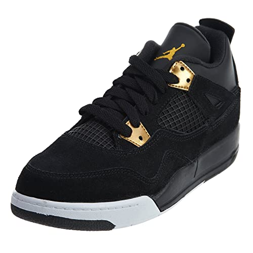 Jordan Nike 4 Retro BP Black Metallic Gold White 308499-032 49ca923d7