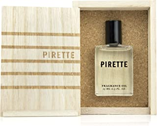 PIRETTE Perfume Oil for Women – Beach Inspired Fragrance with Long Lasting Notes of Fresh Coconut, Surf Wax and Sunscreen (15 ml)