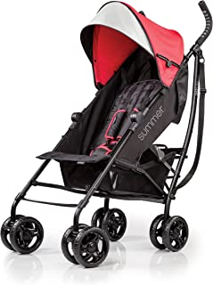 Summer Infant 3DLITE Convenience Lightweight/Compact fold Stroller/Pram for Babies/Infants-( 6 Months to 4 Years)- Red