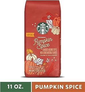 Starbucks Pumpkin Spice Flavored Ground Coffee, Six 11-oz. Bags