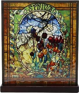 Best tiffany four seasons art glass panels Reviews