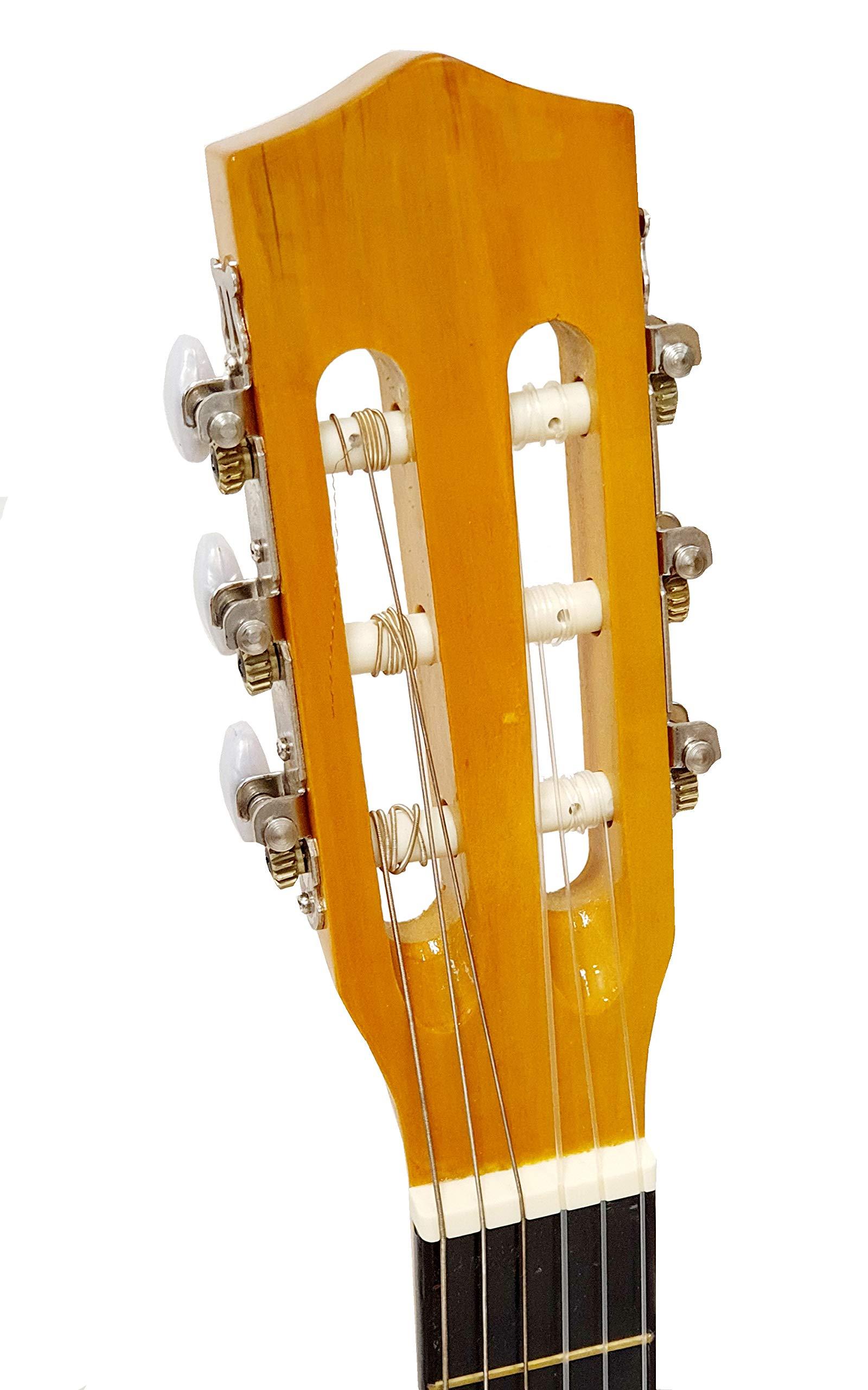 Guitarra clásica flamenco Romanza CANDELA 4/4 para iniciarse en la ...