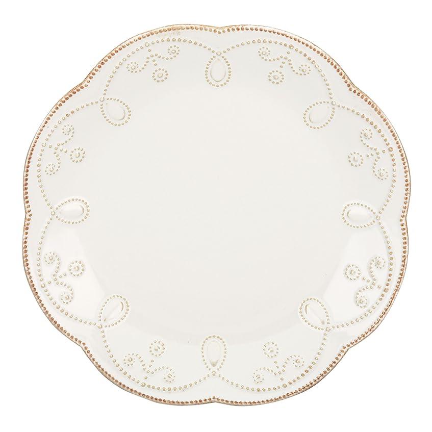 チーズ盗難モデレータLenox French Perle Accent Plate, White by Lenox
