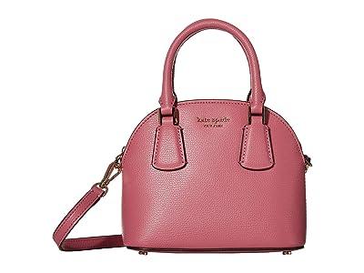 Kate Spade New York Sylvia Mini Dome Satchel (Blustery Pink) Handbags