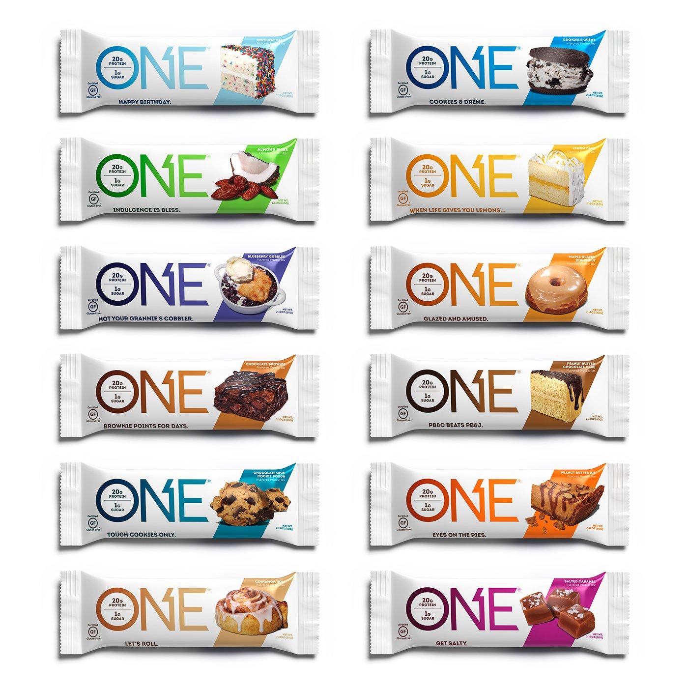 ONE Protein Variety Gluten Free Snacking
