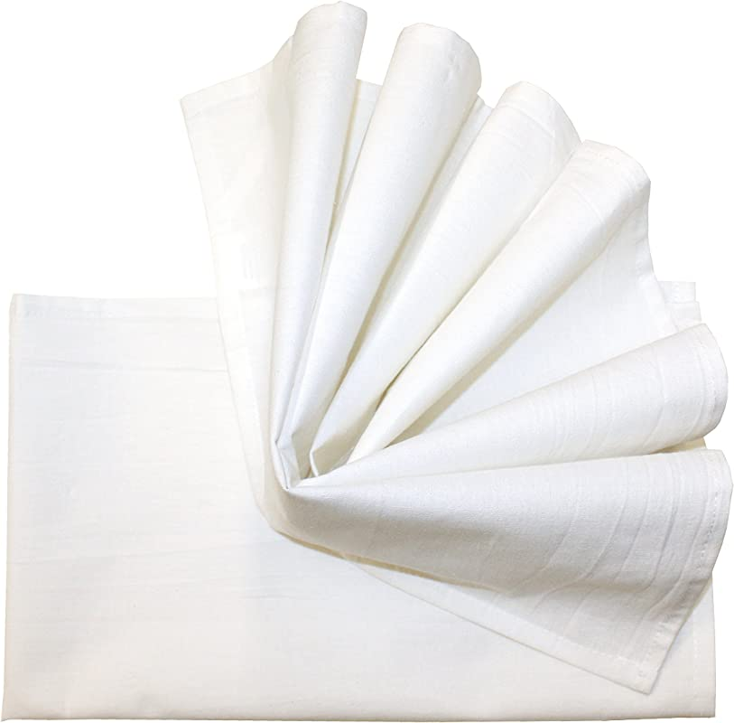 Aunt Martha S 18 X28 Flour Sack Dish Towels White Pkg Of 2