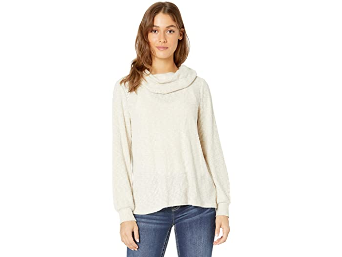Miss Me Cowl Neck Long Sleeve Top