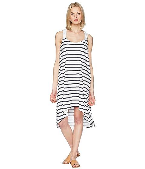 Heidi Klein Core Twist Back Tapered Hem Dress