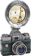 Juvale Piggy Bank Money Box French Classic Camera Style - Polyresin Vintage Old Camera DecorMoney Bank Storage Pot, Black
