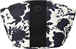 Tilda Printed Nylon Medium Cosmetic Case