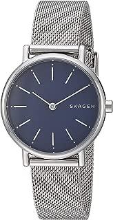 Skagen Signatur Slim SKW2759 - playera para mujer, Plateado, Una talla