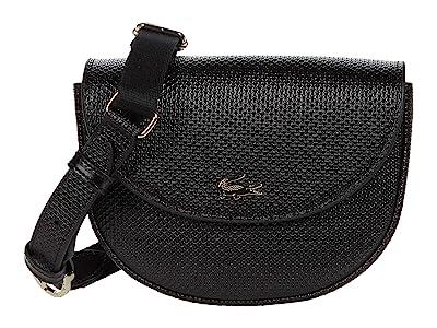 Lacoste Chantaco Waistbag (Black) Cross Body Handbags