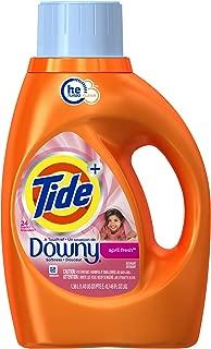 Tide Plus a Touch of Downy High Efficiency Liquid Laundry Detergent - 46 oz - April Fresh - 2 pk