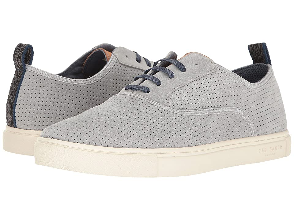 Ted Baker Odonel (Light Grey Suede) Men