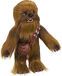 Star Wars 终极副驾驶Chewie Interactive毛绒玩具,由furReal,100多种声音和动作组合,适合4岁及以上的孩子