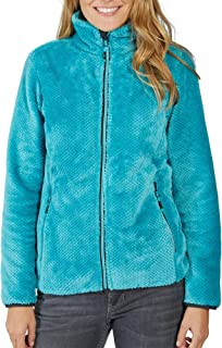 CMP 39P0126 L609 Damen Kuschelfleecejacke optimale W/ärmeisolation Stehkragen