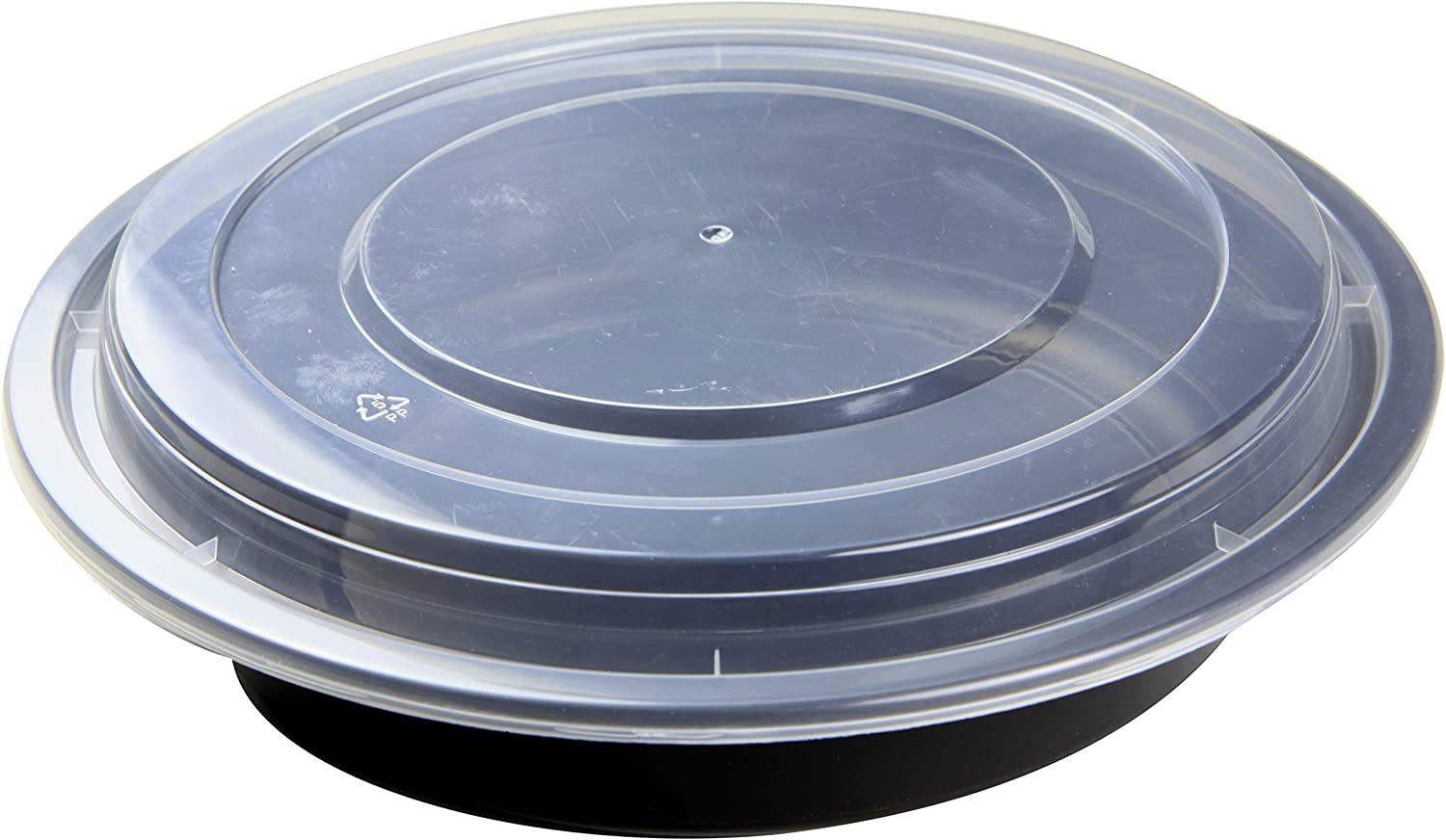 NowPak Takeout Container Black 48 Sale Special Price New York Mall oz Cs 50 3 150 - x