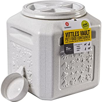 Gamma2 Vittles Vault Outback Stackable Airtight Pet Food Storage Container