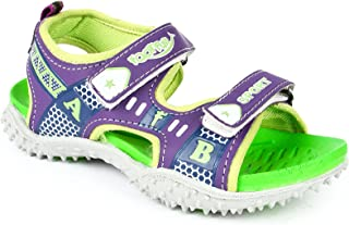 Liberty Foot Fun (from Boy's Check Green Vinyl Sandals and Floaters - 2 Kids UK/18 EU (8074041140340)